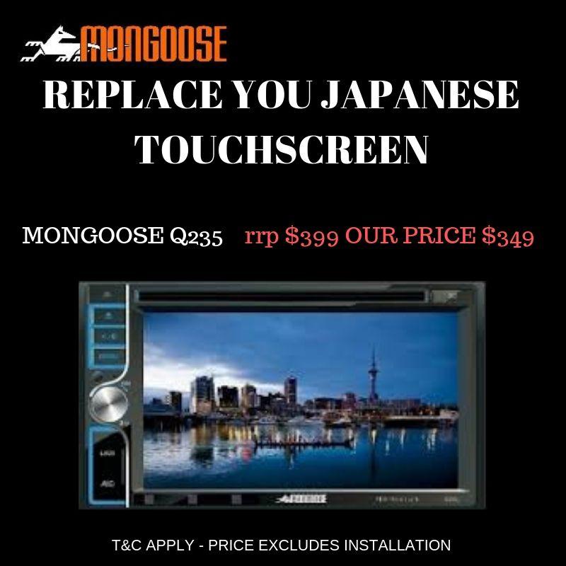 Mongoose Q235 Touchscreen